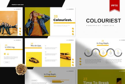 Colouriest   Powerpoint Template