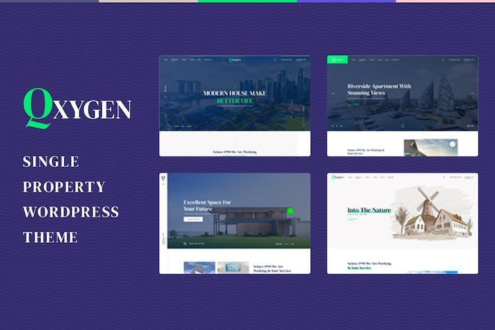 Qxygen - Einzelne Eigenschaft WordPress e