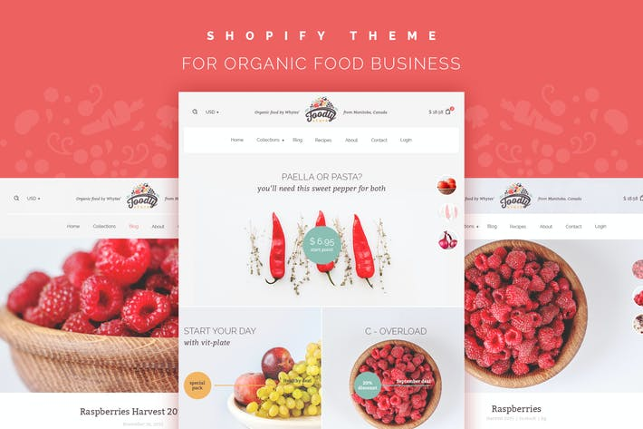 Thumbnail for Foodly – One-Stop Shopify Grocery Shop