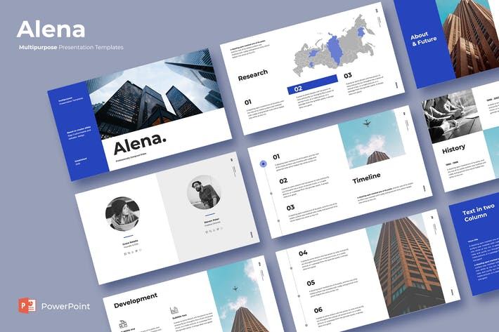 Thumbnail for Alena - Powerpoint Template