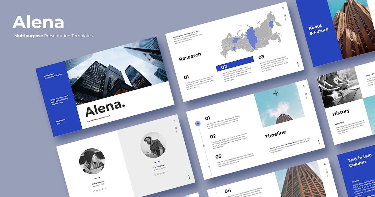 Download Alena - Powerpoint Template by adilbudianto