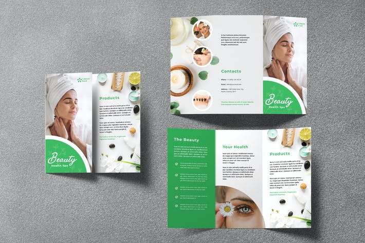 Thumbnail for Spa Trifold Brochure