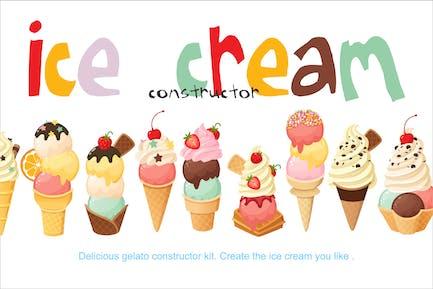 Ice Cream Constructor Kit