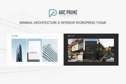Arc Prime - Architecture WordPress Theme