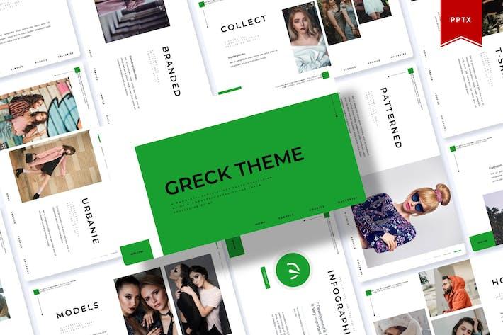 Thumbnail for Тема Greck | Шаблон Powerpoint