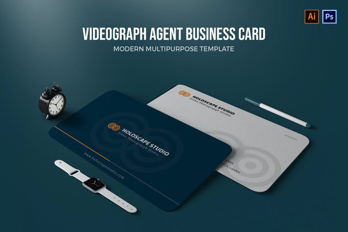 Thumbnail for Videograph Agent - Business Card