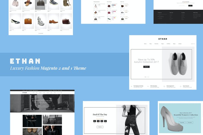 Thumbnail for ETHAN - Luxury Fashion Magento 2 and 1 Theme
