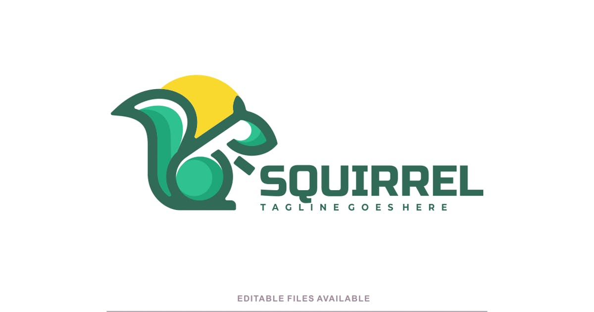 Download Squirrel Color Mascot Logo by artnivora_std