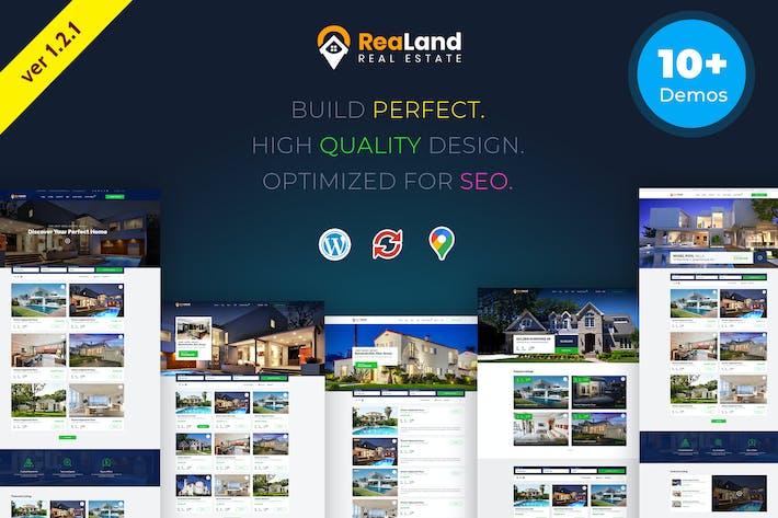 Thumbnail for ReaLand | Real Estate Responsive WordPress Theme