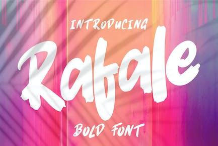 Rafale | Fuente en negrita