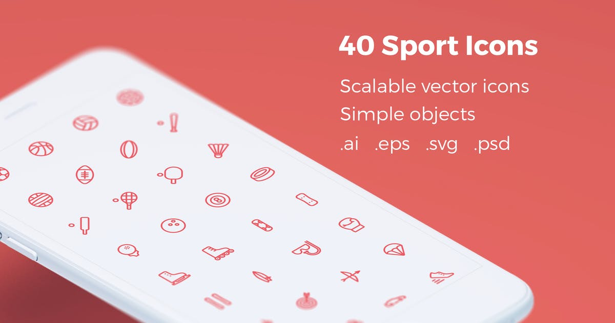 Download Sport - Vector Icons by bestwebsoft