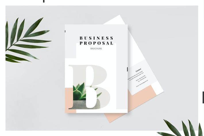 Business Proposal Template By Victorthemes On Envato Elements