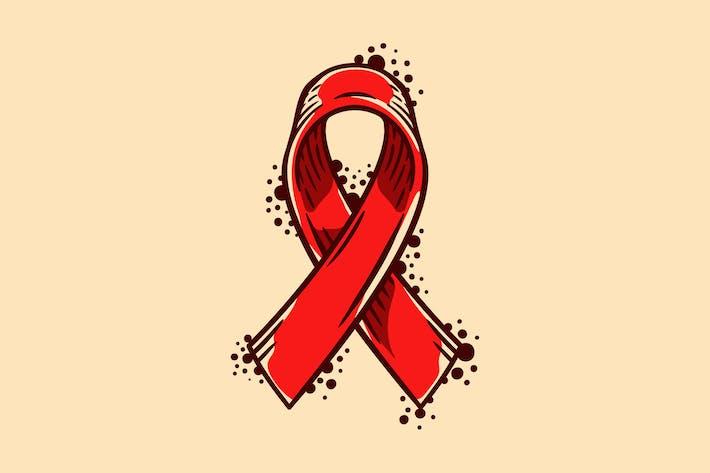 World Aids Awareness Symbol