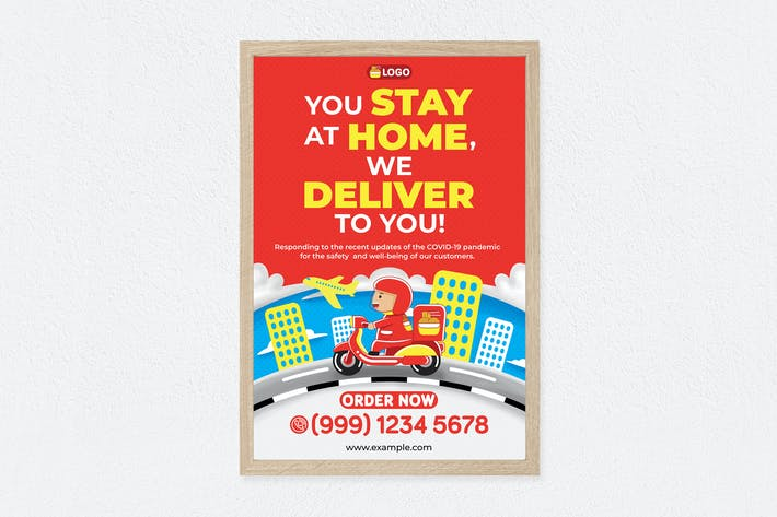 Thumbnail for Food Delivery Poster