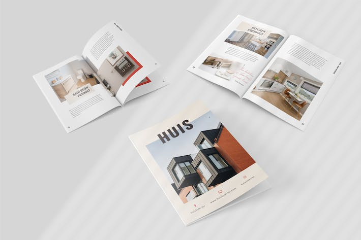 Thumbnail for Huis - Home Decoration Magazine