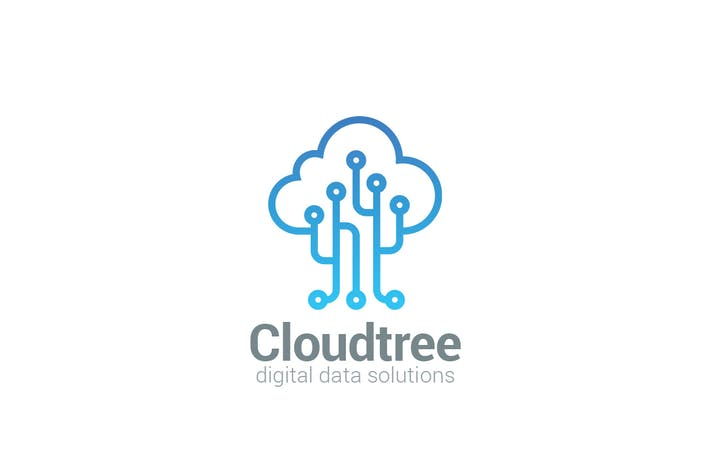 Logo Cloud Tree
