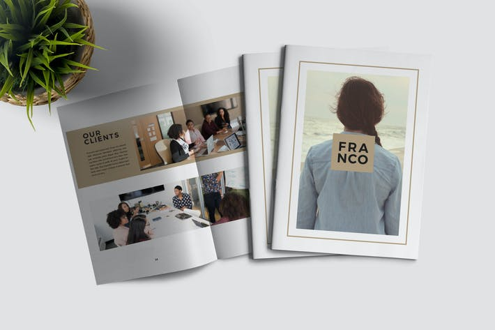 Thumbnail for FRANCO - Mehrzweck-Broschüre Business Unternehmens-