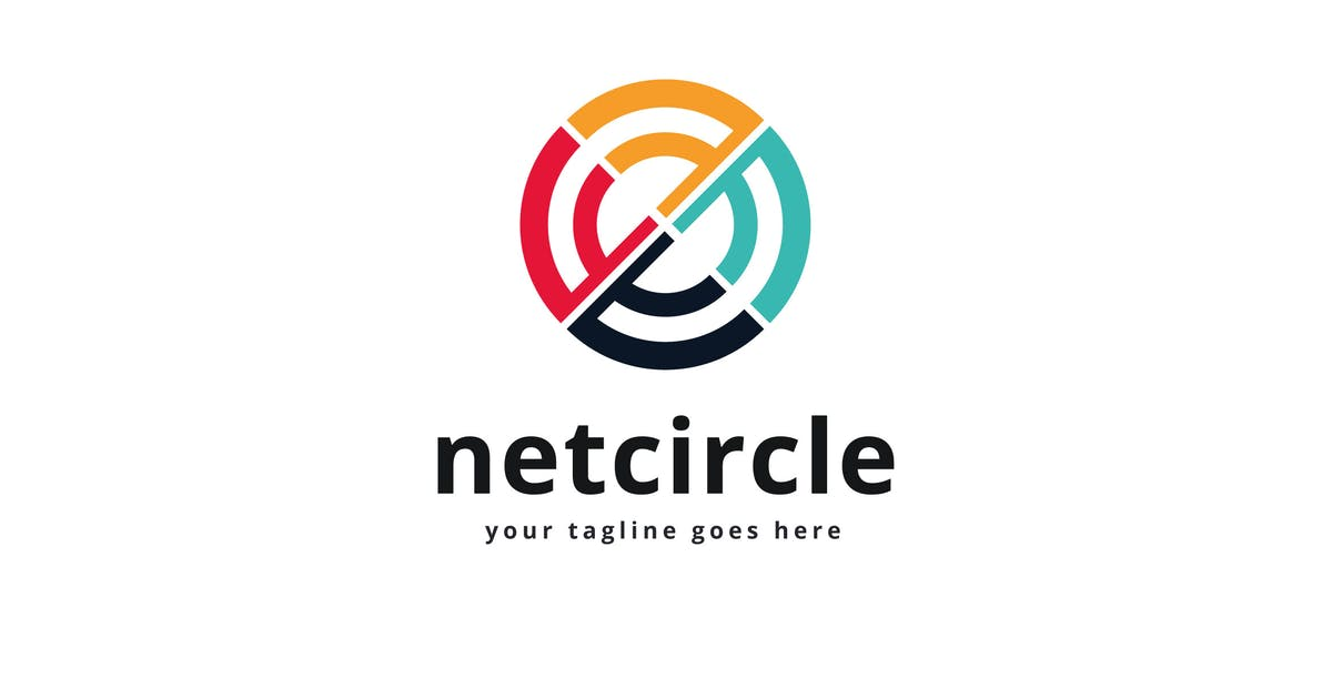 Download Net Circle Logo Vector Template* by Pixasquare