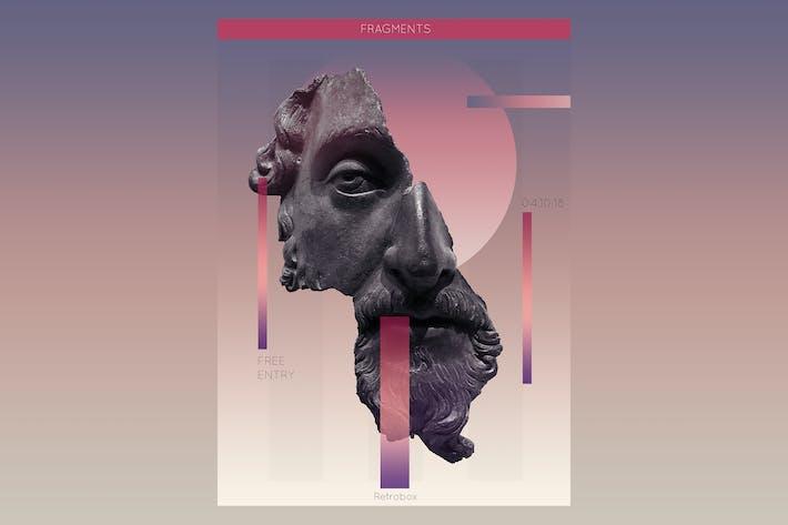 Thumbnail for Fragments Beats Flyer Poster
