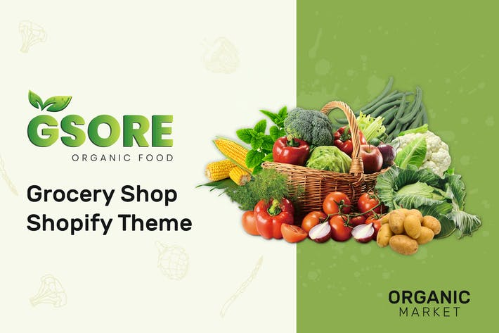Thumbnail for Gsore – Grocery and Organic Food Shop Shopify Them