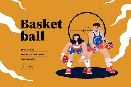 Basketball-Illu