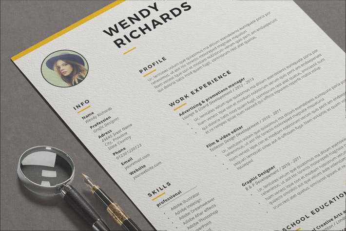 Thumbnail for Resume Wendy