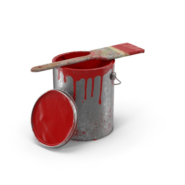 Cover Image for Paint Can and Brush Dirty