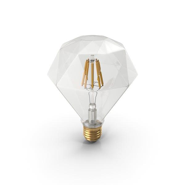 Thumbnail for Bombilla LED de filamento con forma de zafiro