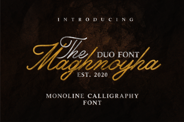 Thumbnail for Maghnoyha DUO FONT