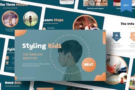 Styling Kids | Keynote Template
