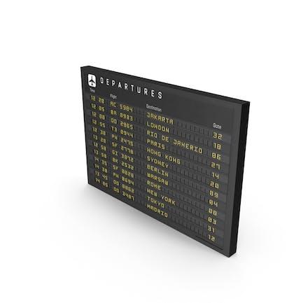 Новый знак информации о рейсе