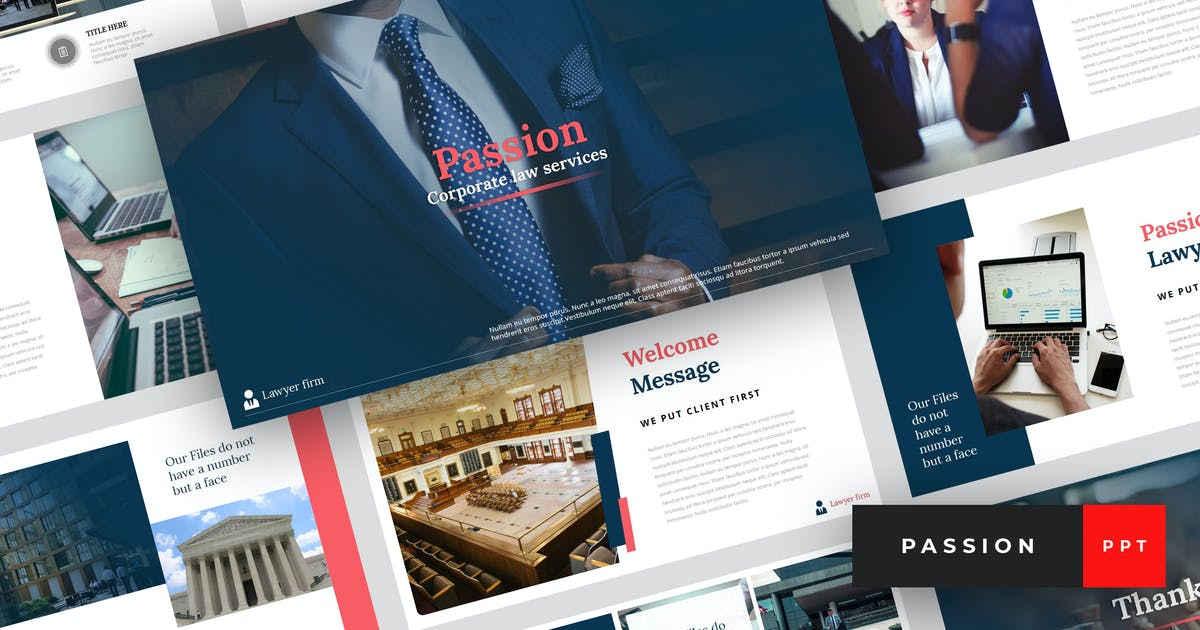 Download Passion - Lawyer PowerPoint Template by StringLabs