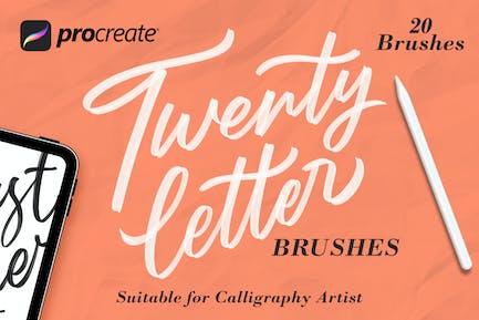 Twentyletter - Щетка для создания