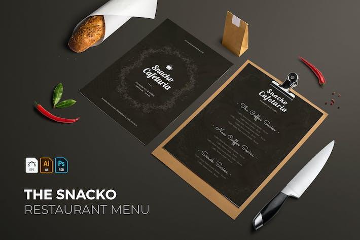 Snacko | Restaurant Menu