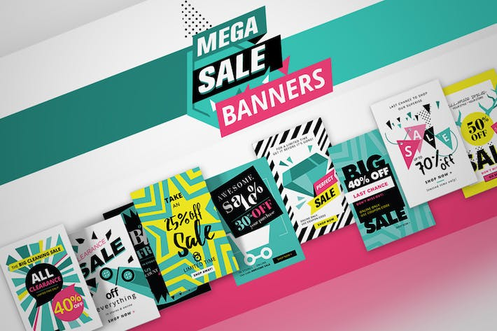 Thumbnail for Social Media Sale Banners