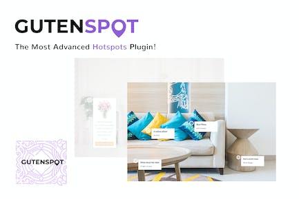 GutenSpot - Image Gallery Hotspots for Gutenberg