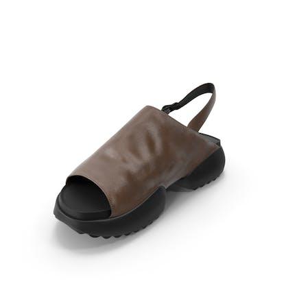 Women's Shoes Black Brown