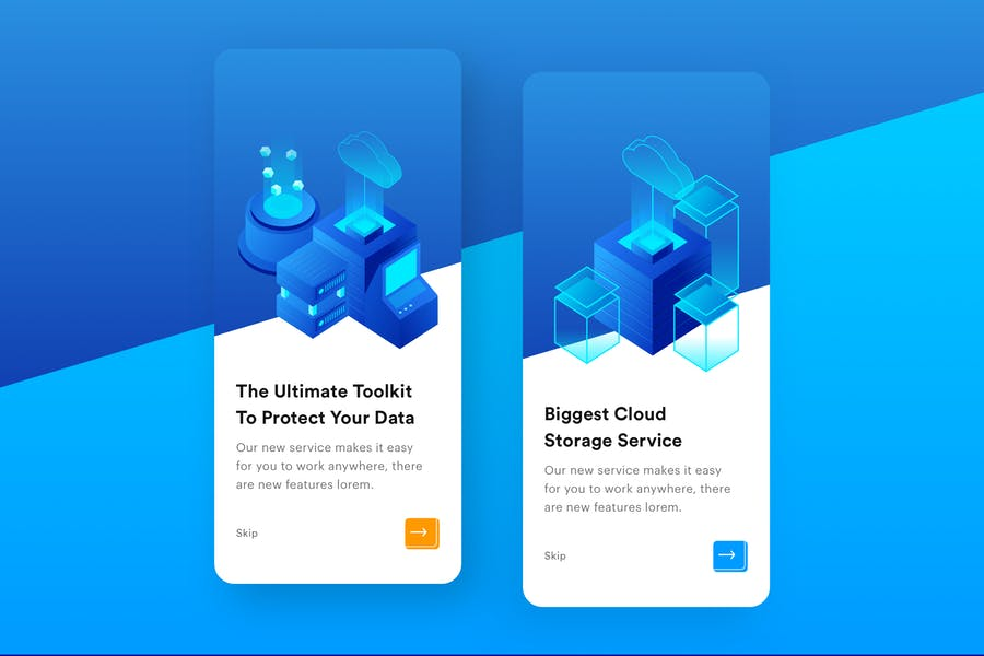 Cloud Storage Mobile Onboarding  - product preview 0