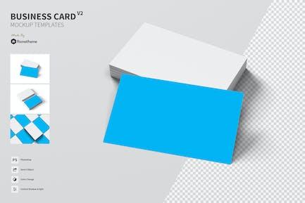 Business Card Mockup vol. 02 FH