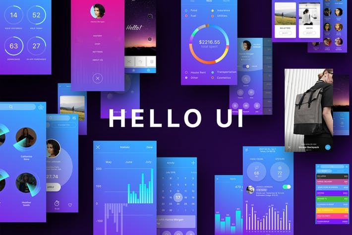 Cover Image For Hello UI Kit