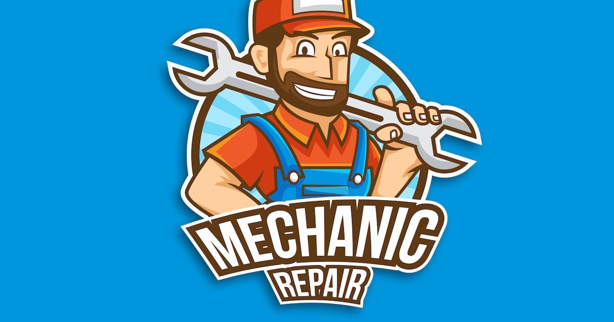 Professional Mechanic Occupation Logo Vector by naulicrea