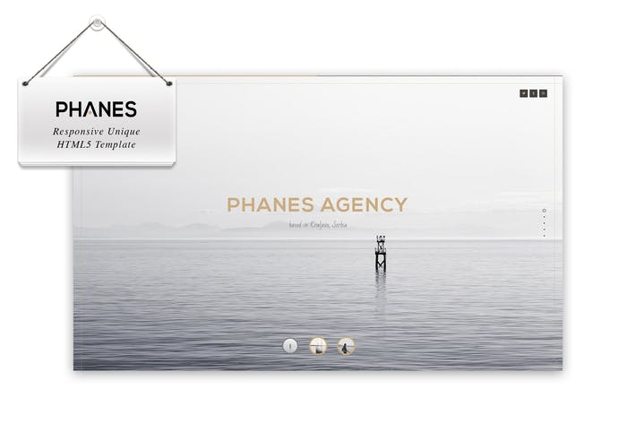 Thumbnail for Phanes - Responsive unique Modèle HTML5