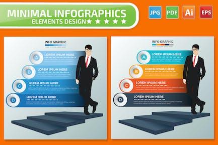 Leadership Infographics design