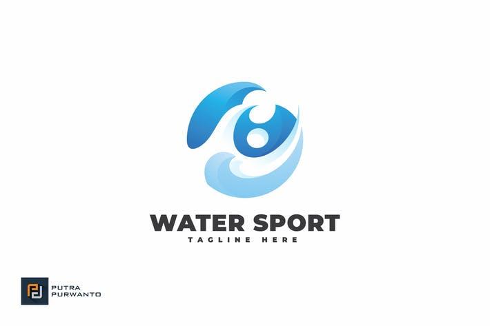 Thumbnail for Water Sport - Logo Template