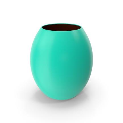Decorative Vase Green Blue