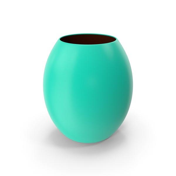 Deko-Vase grün blau
