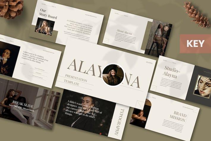 Alayna - Шаблон Keynote