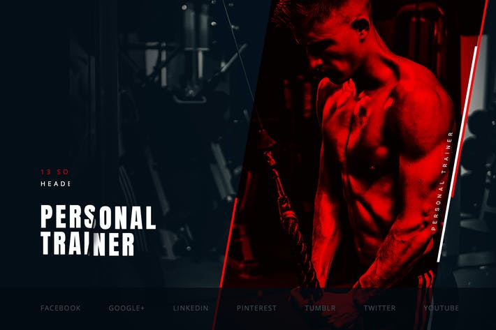 Thumbnail for Personal Fitness Trainer – Social Media Kit