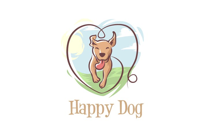 Thumbnail for Happy Dog Logo