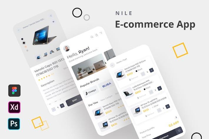 Thumbnail for NiL - Приложение для электронной коммерции